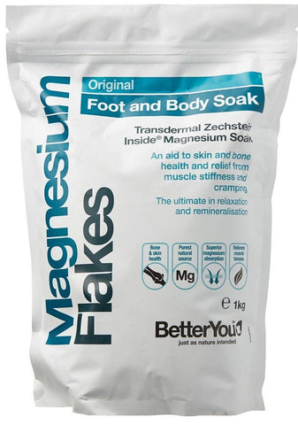 BetterYou Magnesium bath Flakes 5000g