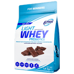 6PAK Nutrition Light Chocolate Whey PRObiotics
