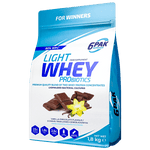 6PAK Nutrition Light Vanilla Chocolate Whey PRObiotics