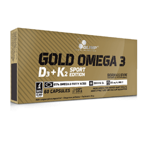 Olimp Gold Omega 3 D3 K2 Sport Edition