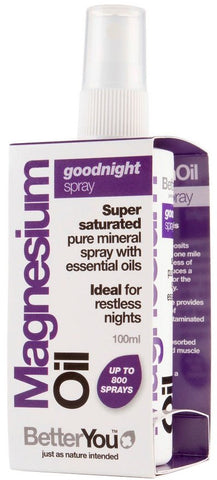 BetterYou Magnesium Oil Goodnight Spray 100 ml.