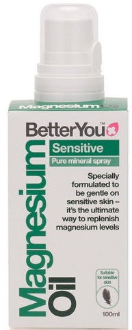 BetterYou Magnesium Oil Sensitive Spray - 100 ml.