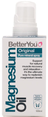 BetterYou Magnesium Oil Original Spray - 100 ml.