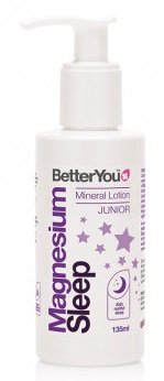 BetterYou Magnesium Sleep Mineral Lotion Junior - 135 ml.