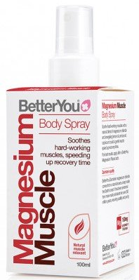 BetterYou Magnesium Muscle Body Spray 100 ml