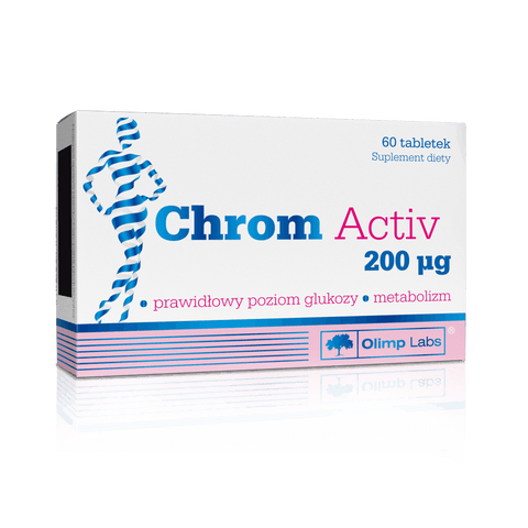 Olimp - Chrom activ 200 mcg - 60 caps.