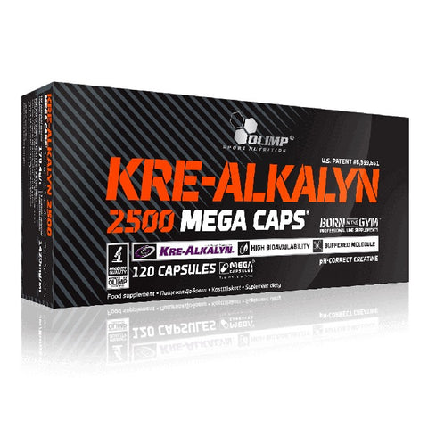 Olimp Kre Alkalyn 2500 Mega Caps 120 caps