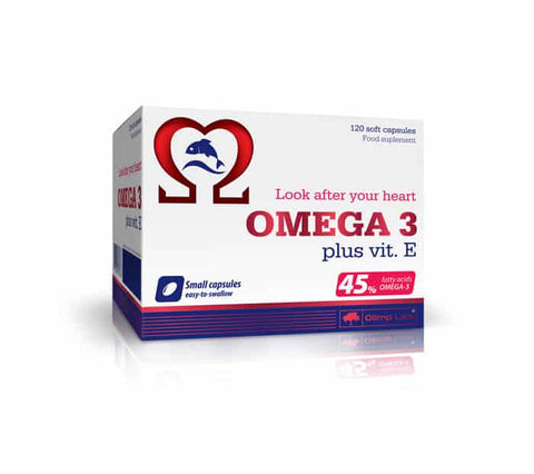 Olimp Omega 3+ Vitamina E  120 caps