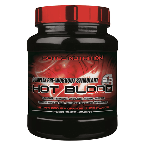 Scitec Nutrition - Hot Blood 3.0