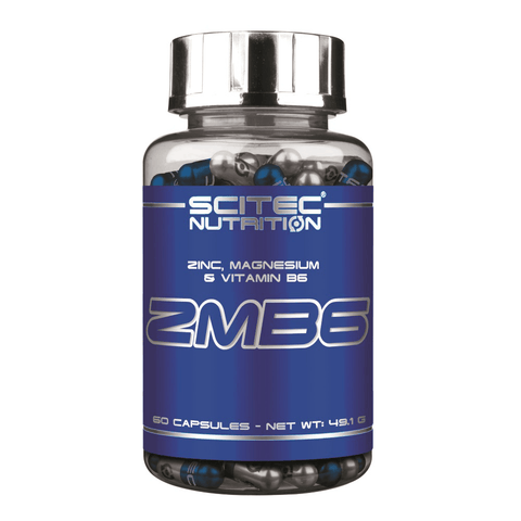 Scitec Nutrition - ZMB6 - 60 caps.