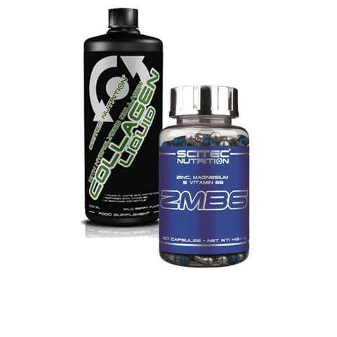 Scitec Nutrition ZMB6 60caps + Scitec Collagen Liquid wild berry 1000 ml