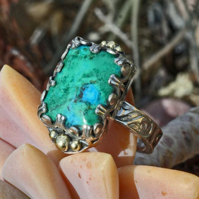 jewelry green turquoise blue detail sterling boho gypsy festival fashion