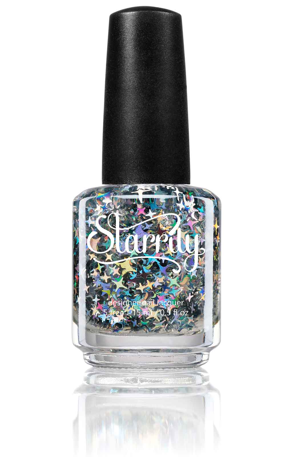 Starrily City of Stars - Big Glitter Top Coat Nail Polish - 15 ml