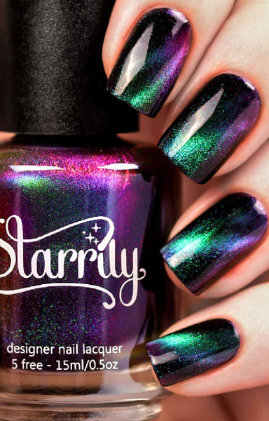 Starrily 174 Andromeda Magnetic 3d Multichrome Nail Polish 15 Ml