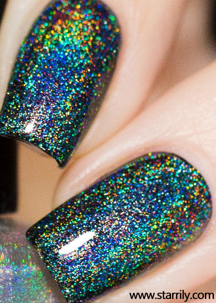 Starrily Eclipse Holographic Top Coat Nail Polish 15 Ml
