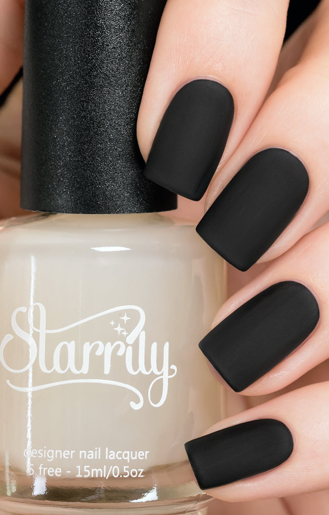 Starrily Matter Ultra Matte Top Coat Nail Polish 15 Ml