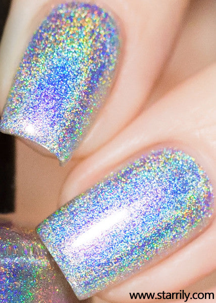 Magic rainbow beautiful holographic nail polish rainbow linear holo holographic nails