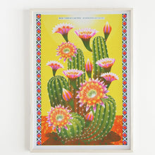 Load image into Gallery viewer, Cactus A3 Risograph Print by Printer Johnson