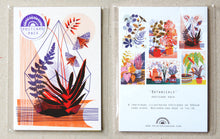 Load image into Gallery viewer, Botanical Plant A6 Postcard Pack by Printer Johnson - ad&i