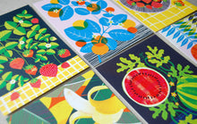 Load image into Gallery viewer, Fruit Salad A6 Postcard Pack by Printer Johnson