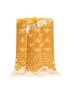 Bee Wool Throw - ad&i