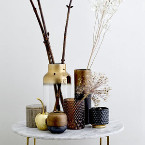 Decorative Gold Stoneware Cherry - ad&i