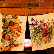 Load image into Gallery viewer, Gourds Tea Towel