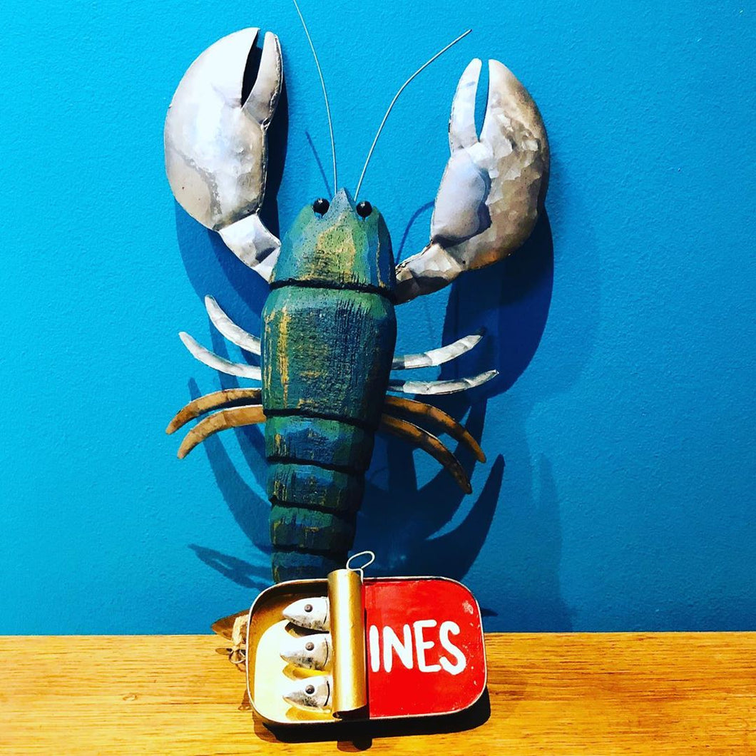 Lobster Wall Hanging - ad&i
