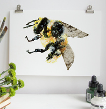 Load image into Gallery viewer, Bumble Bee A5 Digital Print by Abby Cook - ad&i