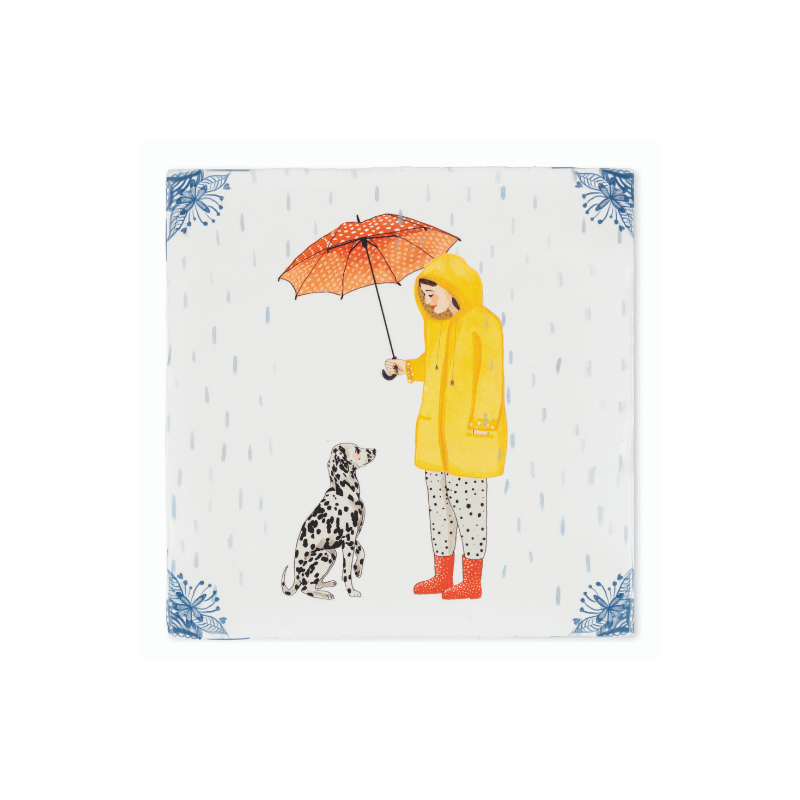 It's Raining Dogs Story Tile