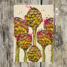 Load image into Gallery viewer, Artichoke Tea Towel - ad&i