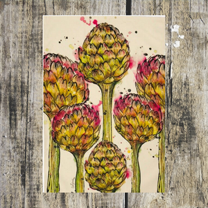 Artichoke Tea Towel - ad&i