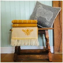 Load image into Gallery viewer, Bee Wool Throw - ad&i