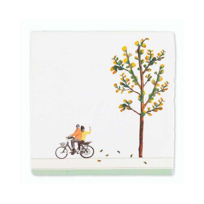 Join Me On My Bicycle Story Tile