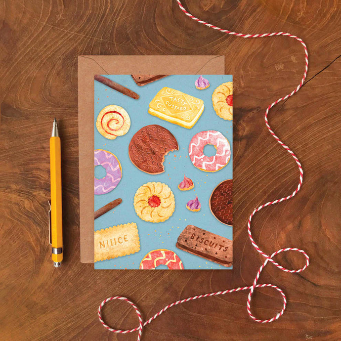 Biscuits Pattern Card - ad&i