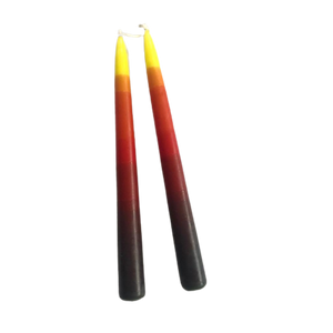 Bonfire Tapered Candle Pair