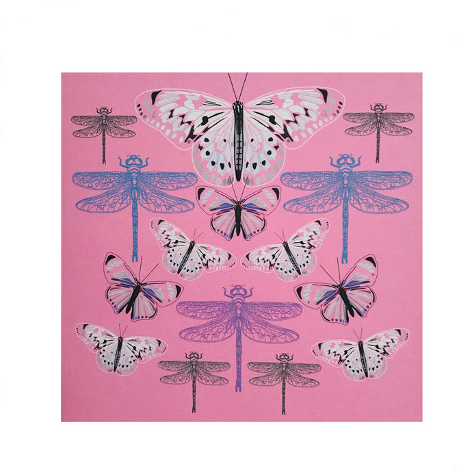 Butterflies and Dragonflies Greeting Card