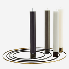 Load image into Gallery viewer, Round Iron Candlestick Holder