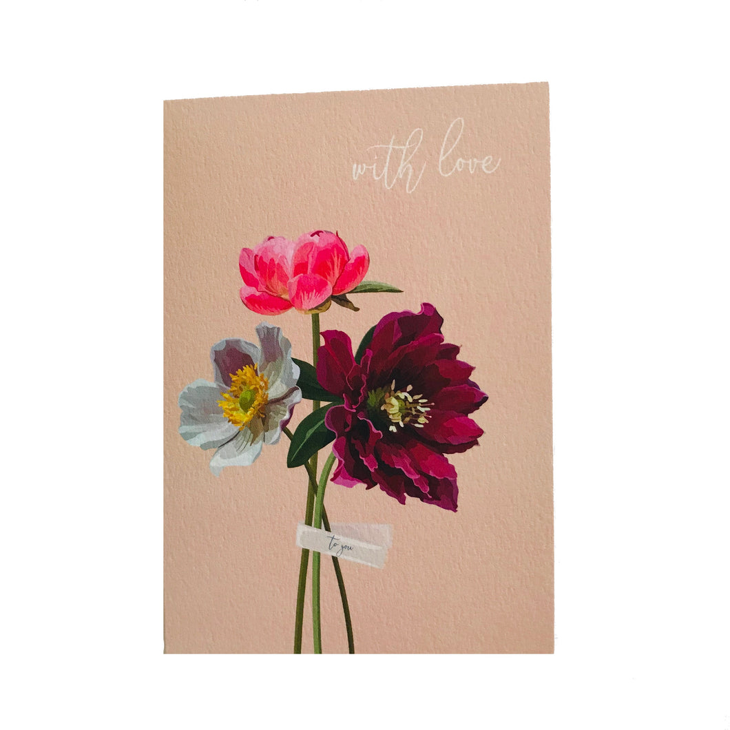 Bunches with Love Card