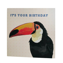 Load image into Gallery viewer, Toucan Birthday Card - ad&i