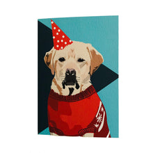Load image into Gallery viewer, Tavis the Labrador Retriever Greeting Card - ad&i
