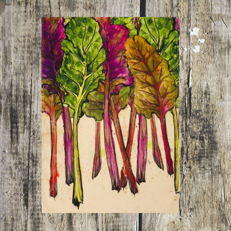 Chard Tea Towel - ad&i