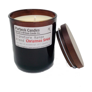 Christmas Spice Scented Soy Wax Candle