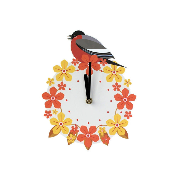 Bullfinch Wall Clock