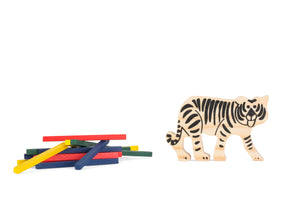 Tricky Tiger Stacking Game