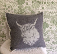 Load image into Gallery viewer, Highland Cow Cushion - ad&i