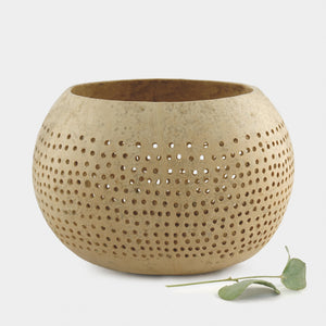 Small Dots Coconut Plant Bowl