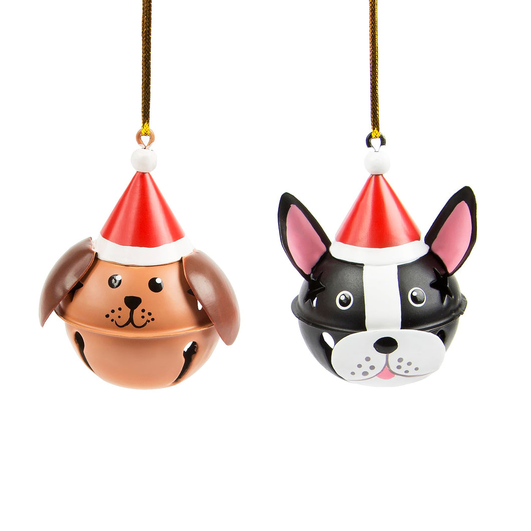 Festive Dog Christmas Decoration