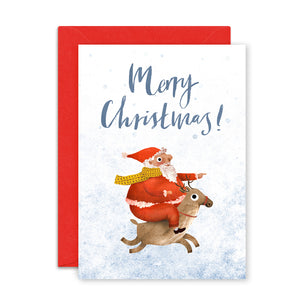 Merry Christmas Card by Emily Nash - ad&i