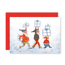 Load image into Gallery viewer, Christmas Little Helpers Card